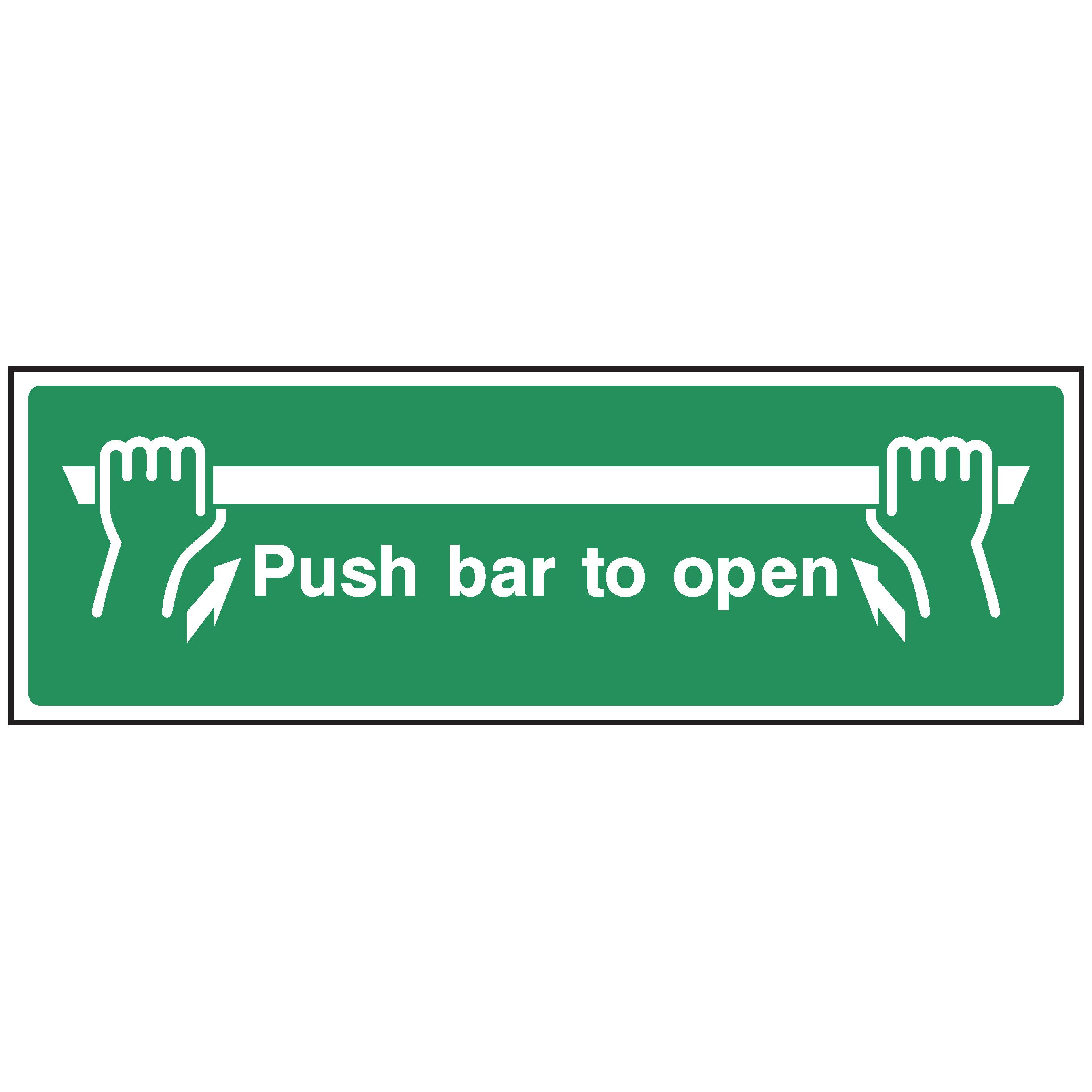 push bar to open fleet dynamic. Black Bedroom Furniture Sets. Home Design Ideas
