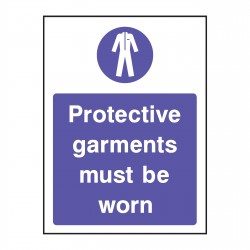 Mandatory - Protective Clothing