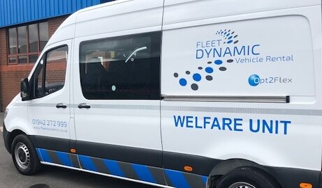 Fleet Dynamic Vehicle Rental – New 7 Seater Welfare Vehicles – Now on Fleet