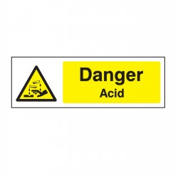 Warning - Chemical Danger